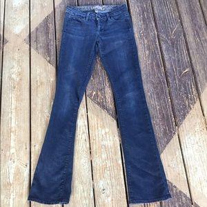 Paige Premium Denim Laguna Dark Boot Cut Jeans